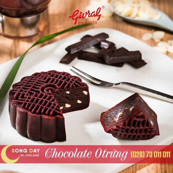 Bánh trung thu Givral chocolate không trứng