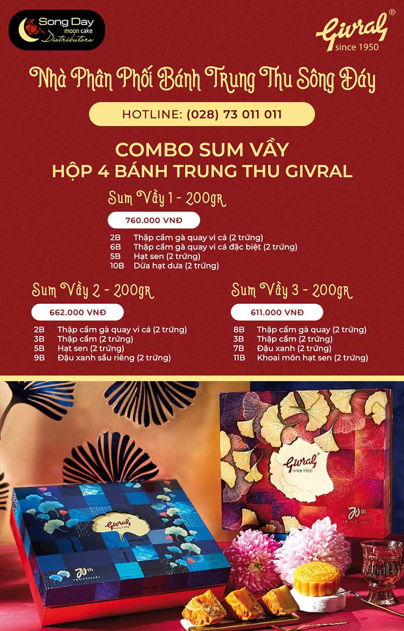 combo givral sum vầy