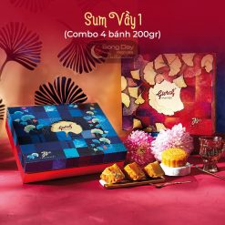combo bánh trung thu givral sum vầy 1