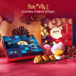 combo bánh trung thu givral sum vầy 2